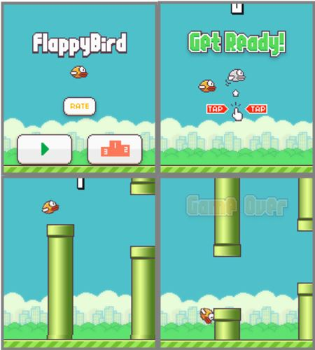 Cara install game flappy bird