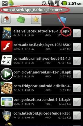 backup aplikasi