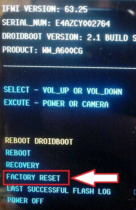 Gambar 2: Fastboot Mode