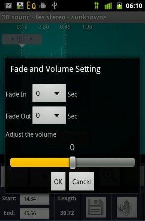 cara membuat ringtone android lebih keras dan kencang