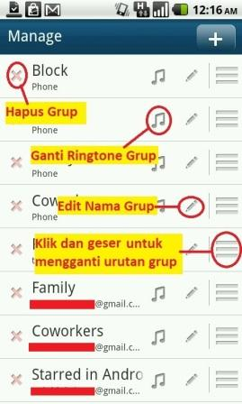 cara mengganti ringtone contact android