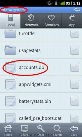 cara remove google account android