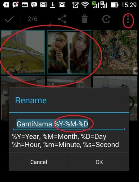 Cara Mengganti Beberapa Nama File Foto sekaligus
