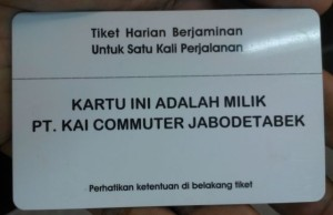 E-Ticket Commuter Line