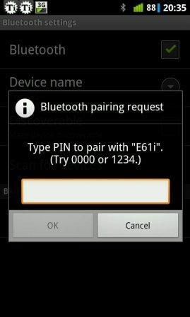 cara terima bluetooth android