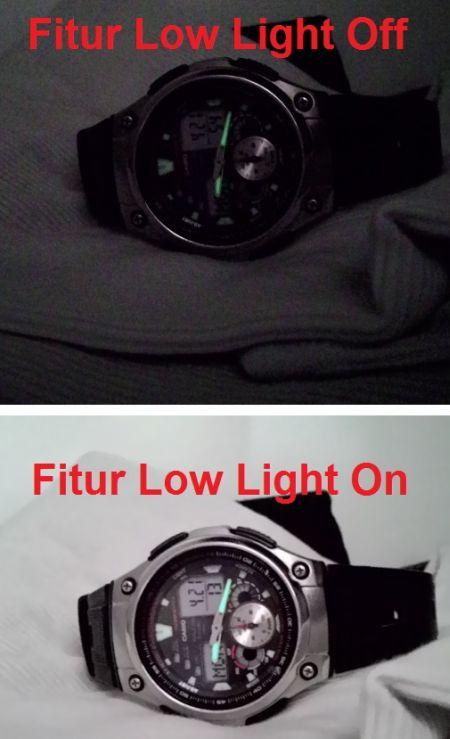 Fitur Low Light Pixel Master