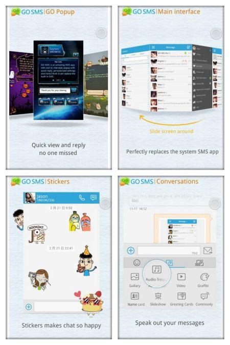 go sms pro android aplikasi keren