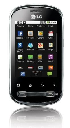 lg p350 optimus me review