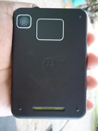 Motorola Charm Touchpad