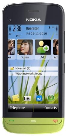 Nokia C5-03 Vs Samsung Galaxy Gio S5660
