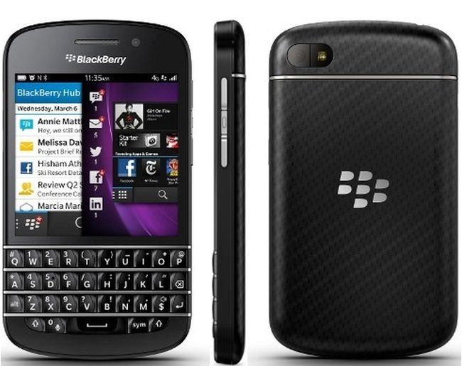 Review BlackBerry Q10
