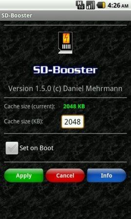 tingkatkan speed SD Card