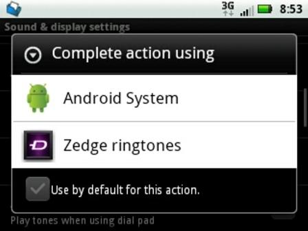cara setting ringtone Android