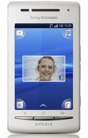 rekomendasi hp android sonyericsson x8 xperia