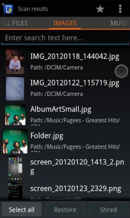cara restore file yang terhapus di android