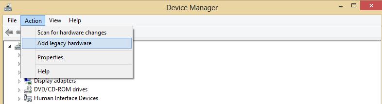 cara install legacy hardware