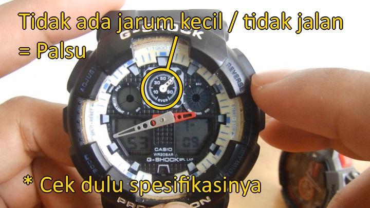 cara bedain jam g-shock baby-g original dan kw 0a33cab075