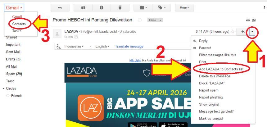Cara Menambah Kontak Dari Gmail Di Pc Dan Di Android Gadoga Com